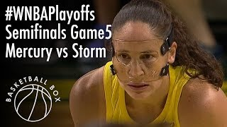Download [WNBA Playoffs Semifinals Game5] PHX Mercury vs SEA Storm, Full Game Highlights, September 4, 2018 Video