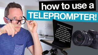 Download How to use a Teleprompter for Videos! Video