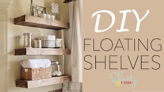 Download DIY Floating Shelves | Shanty2Chic Video