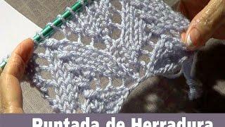 Download Puntada Tejida de Herradura -Encaje Tejido Video
