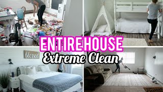 Download Entire House Clean | Extreme Clean With Me | Whole House Cleaning Motivation Video