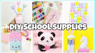 Download 6 BACK TO SCHOOL SUPPLIES! Notebooks,Pencil case-EASY DIY school supplies Compilation Video