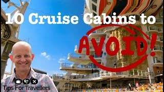 Download The 10 Cabins To Avoid On A Cruise. How To Choose A Cruise Ship Cabin! Video