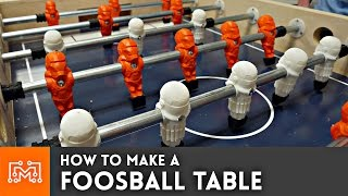 Download Foosball Table with 3d printing // How To Video