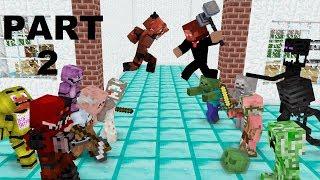 Download Monster School : GRANNY , GRANDPA & FNAF (The Revenge) - Minecraft Animation Video