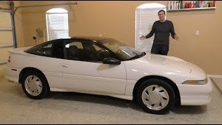 Download Here's a Tour of a Perfect 1990 Mitsubishi Eclipse GSX Video
