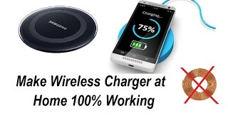 Download Make Wireless Charger At Home Work 100% No Need Any Coil Or Transistor Simple Steps Video