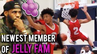 Download LEBRON Watches NEWEST JELLYFAM Member Mikey Williams!! #1 8th GRADER In The COUNTRY!! HS Highlights Video