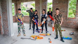 Download 3T Nerf War : Squad Alpha Nominee Soliders Nerf guns Fight with Criminals Counterfeit Money Video