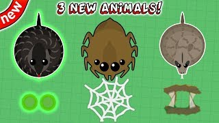 Download MOPE.IO NEW UPDATE! 3 NEW ANIMALS & ABILITIES! Spider, Cobra & Boa Constrictor! (Mope.io New Update) Video