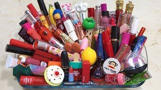 Download Mixing 100+ Lipsticks And Makeup Dissimilar Into Glossy Slime ! Most Satisfying Slime Videos Video