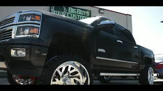 Download Customer Drives His Silverado From Kansas-Texas For A 9″ Mcgaughys Lift and 24x12 American Forces! Video