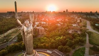 Download KYIV from a drone in 4k Video