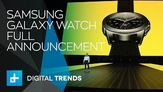 Download Samsung Galaxy Watch - Full Announcement Video