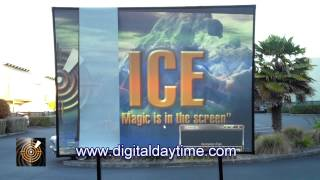 Download Stunning Daytime Projection demonstration uncovers the truth about projection screens. Video