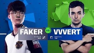 Download Faker vs. VVvert   1v1 Tournament   2017 All-Star Event Video