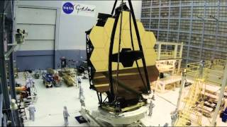 Download Time-lapse: James Webb Space Telescope Mirror Rollover Video