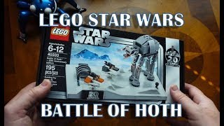 Download Lego Star Wars 40333 - Battle of Hoth 20th Anniversary unboxing, build and review. Video