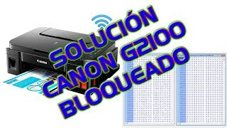 Canon G1000 G2000 G3000 EEPROM Replacement Reset Free Download Video