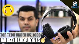 Download Top Tech - Top Tech Wired Headphones Under Rs. 1000 - Budget Shopping Video