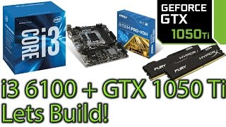 Download Building an i3 6100 PC feat GTX 1050 ti - Budget PC Video