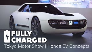 Download Tokyo Motor Show 4 - Honda EV Concepts | Fully Charged Video