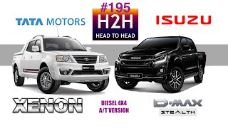 Download H2H #195 Tata XENON vs Isuzu D MAX Video