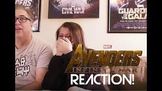 Download Marvel Avenger Infinity War Trailer Reaction Video
