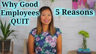 Download Why Good Employees Quit Video