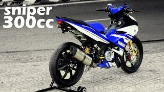 Download 300cc Extreme Yamaha Sniper Jupiter MX LC135 Exciter King Marvz ! Video
