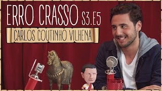 Download Erro Crasso T3 Ep5 - CARLOS C. VILHENA, atores portugueses, frases em inglês e o desafio da canela. Video