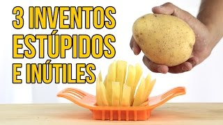 Download 3 Inventos de cocina... ¡INÚTILES! - Visto en Internet Video