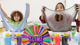 Download DESAFIO DA ROLETA MISTERIOSA DE SLIME (MYSTERY WHEEL OF SLIME CHALLENGE)#4 Video