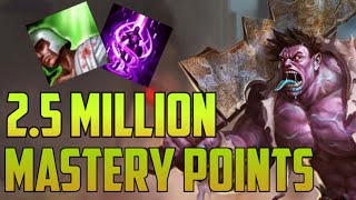 Download SILVER 2,500,000 MASTERY POINTS DR. MUNDO- Spectate Highest Mastery Points for Dr. Mundo Video