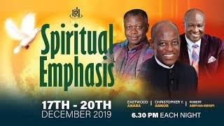 Download Spiritual Emphasis Day 1 (17th December, 2019) ICGC Holy Ghost Temple. Video