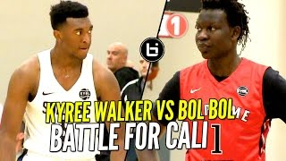Download Bol Bol vs Kyree Walker at Nike EYBL!! Cal Supreme & Oakland Soldiers Battle For Bragging Rights Video