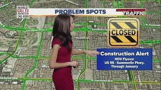 Download More lane closures, restrictions on Summerlin Parkway Video