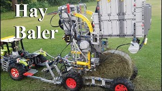 Download Hay Baler - Lego Technic 42054 Claas Xerion 5000 Trac VC Video