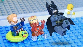 Download Lego Babysitting Swimming Pool: Avengers and Justice League Next Generation Video