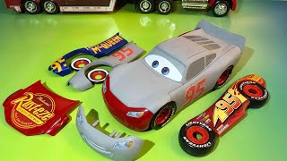 Download Disney pixar cars lightning mcqueen race and change primer fabulous lightning mcqueen Video
