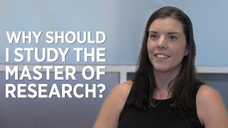 Download Why study the Master of Research? Video
