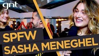 Download Sasha Meneghel conta no SPFW que quer trabalhar com moda - SPFW TRANS N42 Video