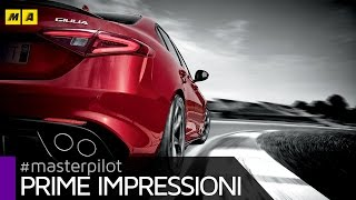 Download Alfa Romeo GIULIA Quadrifoglio AT8 | Prime impressioni Video
