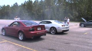 Download 2003 Cobra vs TT 2010 Camaro SS.wmv Video