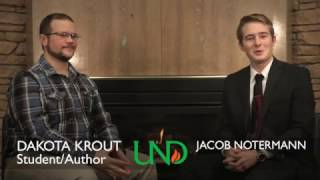 Download University of North Dakota student turned author Video