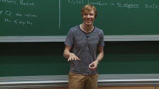 Download Balt van REES - 1/2 Chiral algebras Video