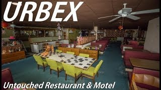 Download ABANDONED Untouched Restaurant & Motel With EVERYTHING Still Inside ! Video