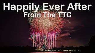 Download Happily Ever After Fireworks at the Magic Kingdom as seen from the TTC (4K) Video