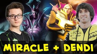 Download Miracle and Dendi in one team — Terrorblade + Invoker Video