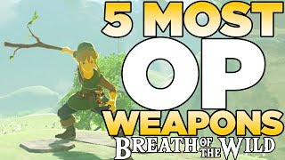 Download 5 Most OP Weapons in The Legend of Zelda: Breath of the Wild | Austin John Plays Video